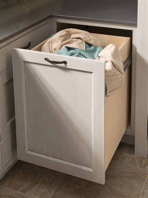Pull Out Hamper   Wood Mode   Fine Custom Cabinetry