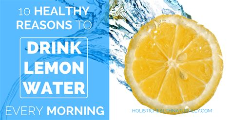 Detox Water Every Morning by 10 Healthy Reasons To Drink Lemon Water Every Morning