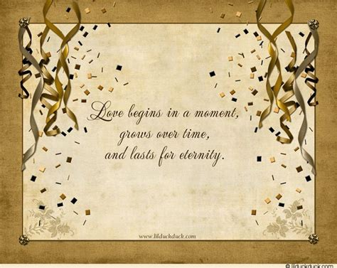 50th Wedding Anniversary Quotes by Words To Use For An Engagement Card Quotes