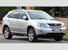2006 Lexus RX 330 - Information and photos - MOMENTcar Morris 4x4 Jeep Information