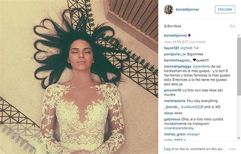 revealed why kendall jenner s photo is the most liked in