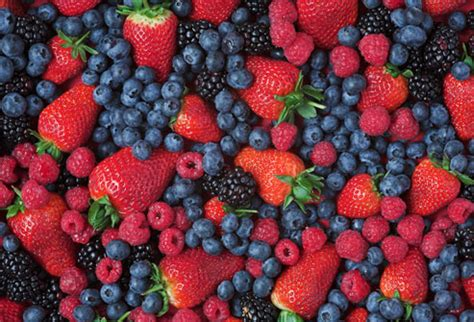 Mix Berry burning foods in pictures blueberries green tea and more