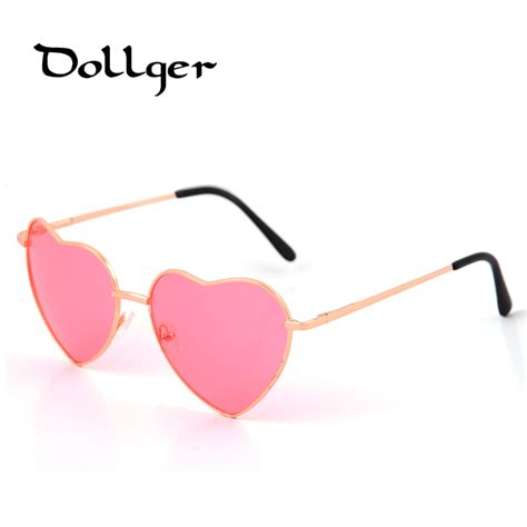 fashionable heart shape sunglasses female online buy wholesale sunglasses heart from china