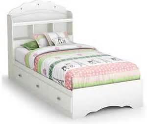 girls white headboard kids twin bed headboard bookcase girls storage drawers
