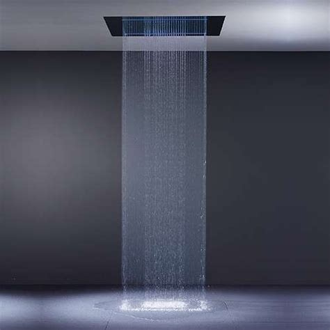 Waterfall Showers Bathroom Rainsky Waterfall Shower The Pleasure Of In Your