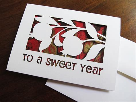 how to make beautiful greeting cards at home rosh hashana new year greeting card hebrica on
