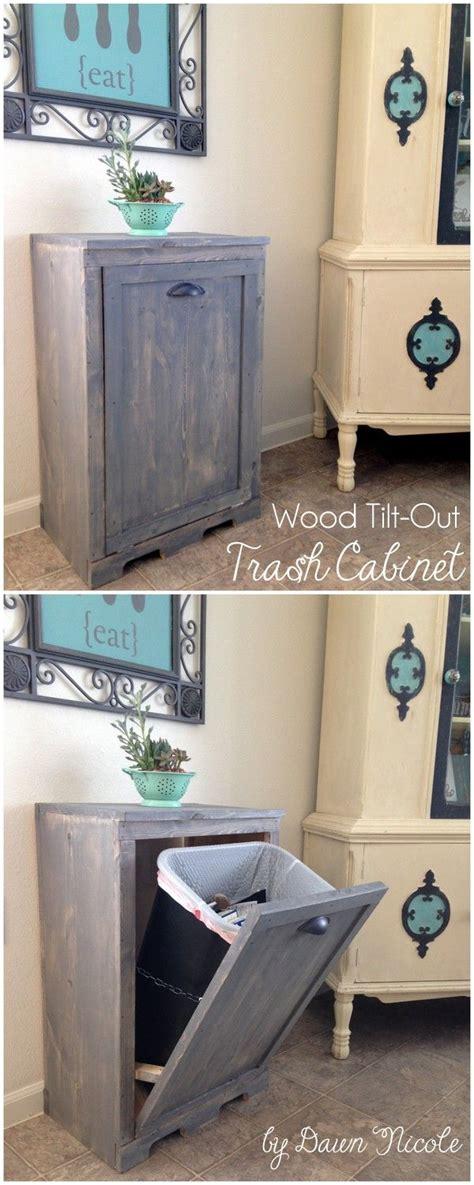 Kitchen Trash Can Ideas 25 Best Kitchen Trash Cans Ideas On Pinterest Trash Can Kitchen Trash Can Cabinet And
