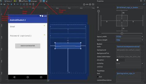 android studio layout margin android studio 2 2 ve gelen yenilikler 2 geleceği yazanlar