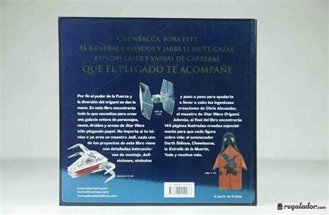 libro star of fear star regalador com libro star wars origami para crear