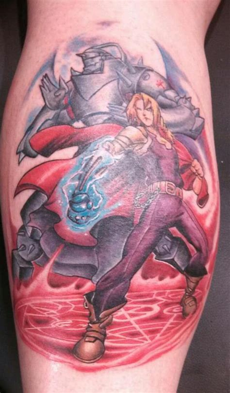 fma tattoo fullmetal alchemist brotherhood by 2barquack on