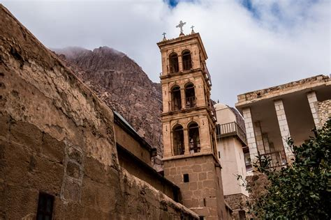 St Chaterine 50 catherine s monastery snow and security in