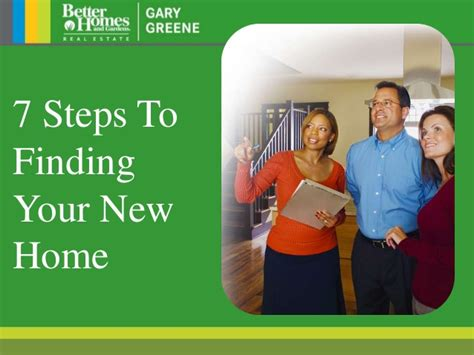 7 Steps To Finding The by 7 Steps To Finding A New Home