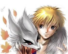 Naruto and his demon fox by autumn sacura on deviantart
