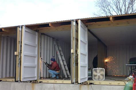 Maison Dans Container quels containers choisir comment les fixer sur quel