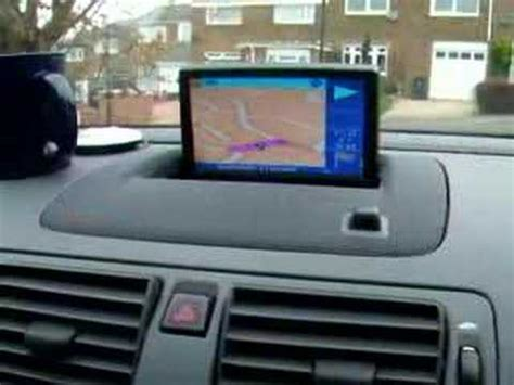 how to fix cars 2010 volvo c30 navigation system volvo s40 t5 dvd and sat nav through screen youtube