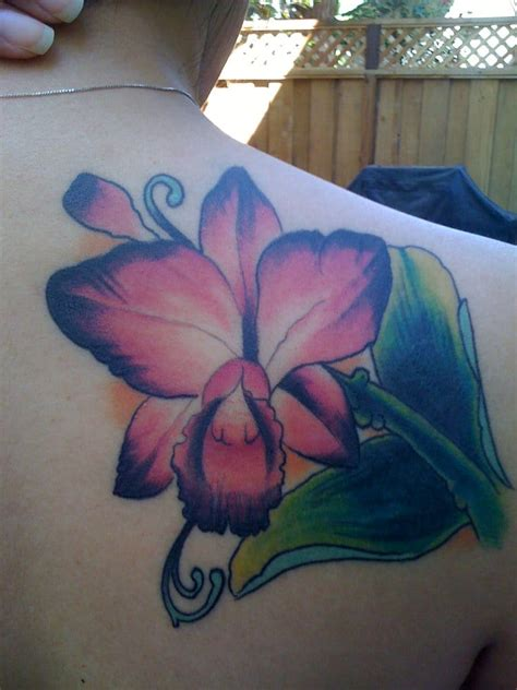 cattleya tattoo cattleya orchid cover up by josh yelp
