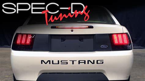 2004 mustang tail lights specdtuning installation video 1999 2004 ford mustang