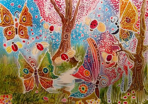 Batik Kupu Kupu Batterflay batik ladybirds and butterflys by dawndelver on deviantart