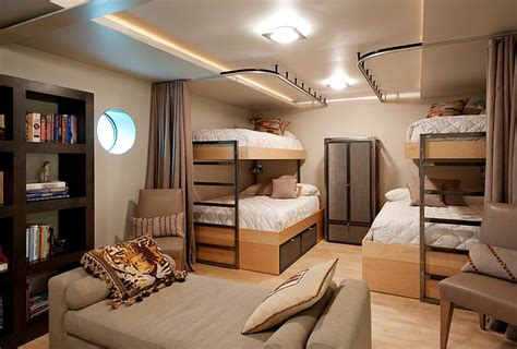 room and board bunk beds bedroom bunk beds lake union floating home seattle by
