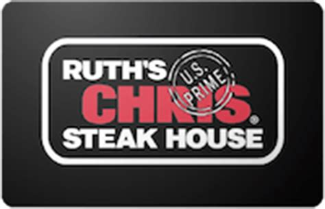 Ruths Chris Gift Card - card cash