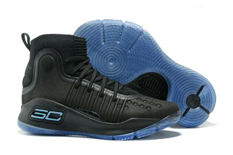 Curry 4 Black Blue new curry 4 black blue for sale