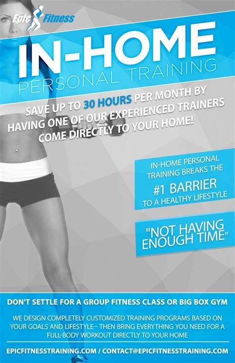 Personal Training Flyer Template personal flyers related keywords personal