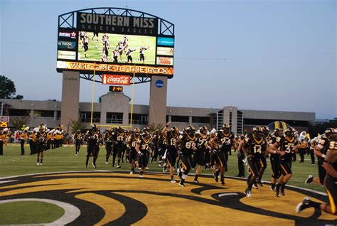 of southern mississippi starving eagles improper budgeting the southern miss