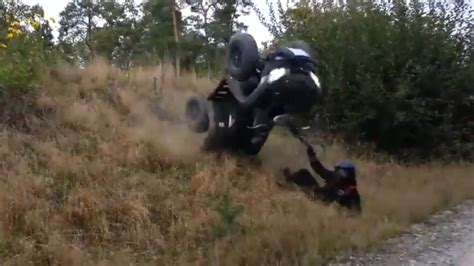 This ATV Crash Doesn't Look Good At All   autoevolution