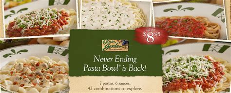 All You Can Eat Pasta Olive Garden by Livecontagiously Never Ending Pasta Bowl