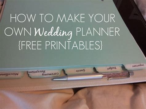 make your own planner online sleepless in diy bride country how to make your own