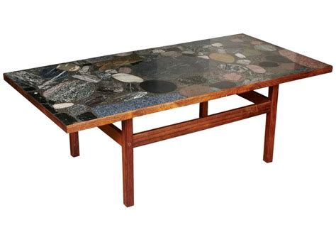 modernist granite top cocktail table in the style of tommy granite coffee table base granite coffee table designs