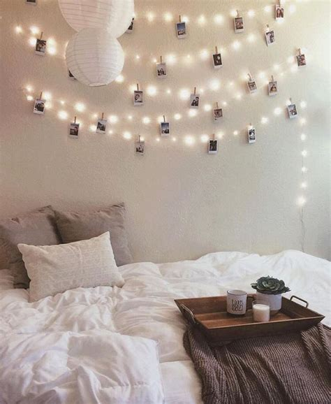 Bedroom String Lights Decorative 1000 Ideas About String Lights Bedroom On Pinterest Bedroom Lights Indoor String