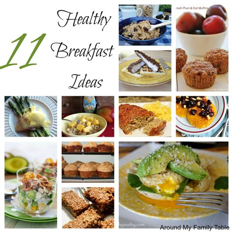 Eat In Kitchen Ideas by 11 Healthy Breakfast Ideas Around My Family Table