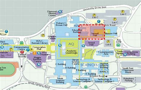 Bc Floor Plans sfu facilities services campus information