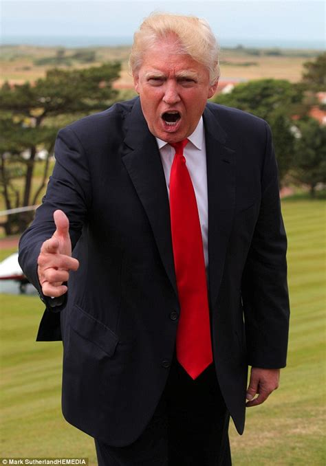 scotland has a bad day donald gets windblown in scotland and his hair