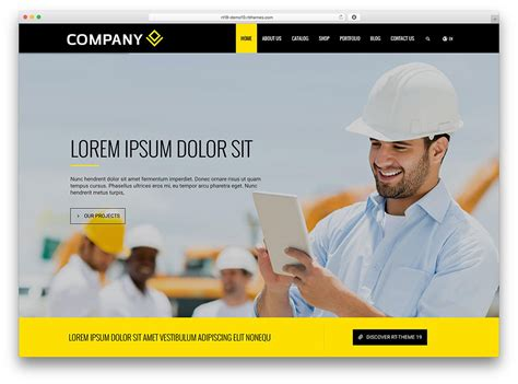 bid websites 30 best construction company themes 2018 colorlib
