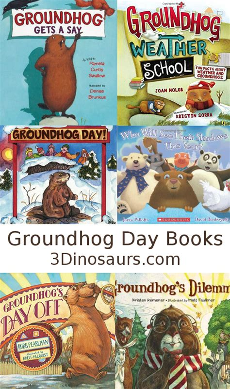 groundhog day how many days did it last groundhog day books 3 dinosaurs