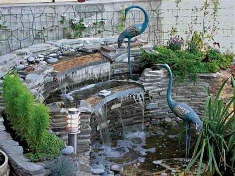 backyard fountains and waterfalls 20 spectacular backyard ideas waterfalls that top off backyard landscaping