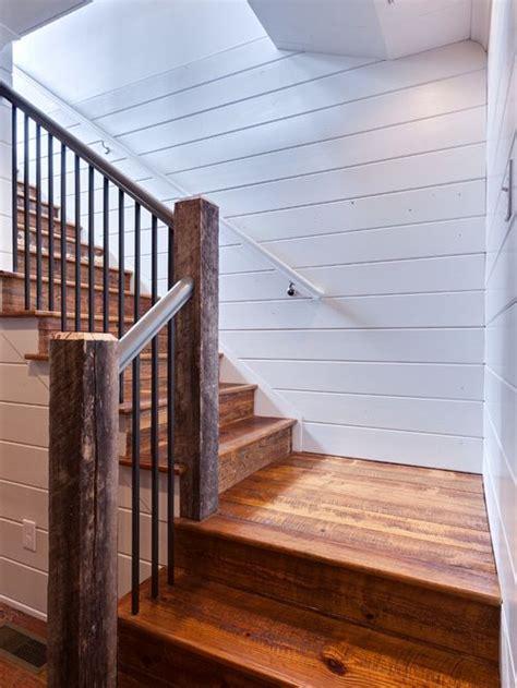 Rustic Shiplap Walls 17 Beste Idee 235 N Farmhouse Stairs Op Kelde