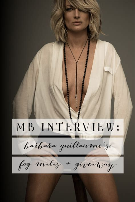 Barbara S Giveaway - mb interview barbara guillaume s fog malas giveaway model behaviors