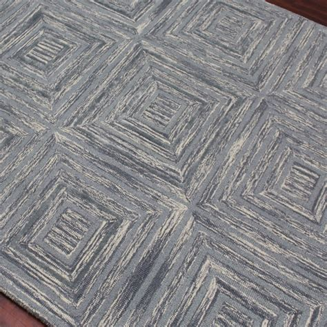 dwell rug dwell area rug steel blue 2 l x 3 w amer rugs touch of modern