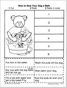 sequencing events worksheet kindergarten 1000 ideas
