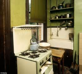 1920s kitchen how we grew to our kitchens that doubled in size since the 1920s daily mail