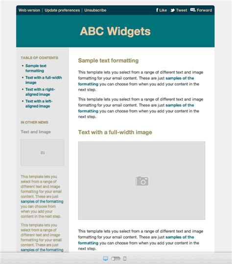 mobile friendly email template 10 great looking email