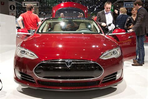 Tesla Model S Performance Review Tesla Electric Model S Review