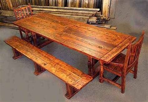 rustic dining table with bench rustic dining table with bench the interior design