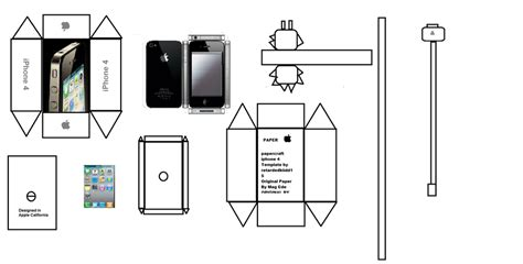 Papercraft Iphone - papercraft iphone 4 by paperkraft link for