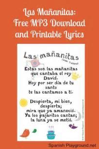 Pics photos happy birthday song in spanish with printable lyrics