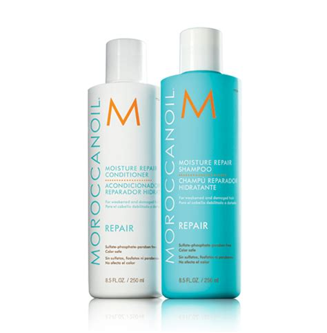 best repairing shoo and conditioner 2014 moroccanoil reconstructive repair moroccanoil moisture