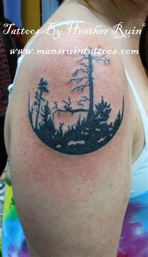 mans ruin tattoo trees by ruin www mansruintattoos mans